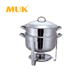 MUK hotel restaurant supplies cheap stainless steel 13.5L food heater chafing dish for sale