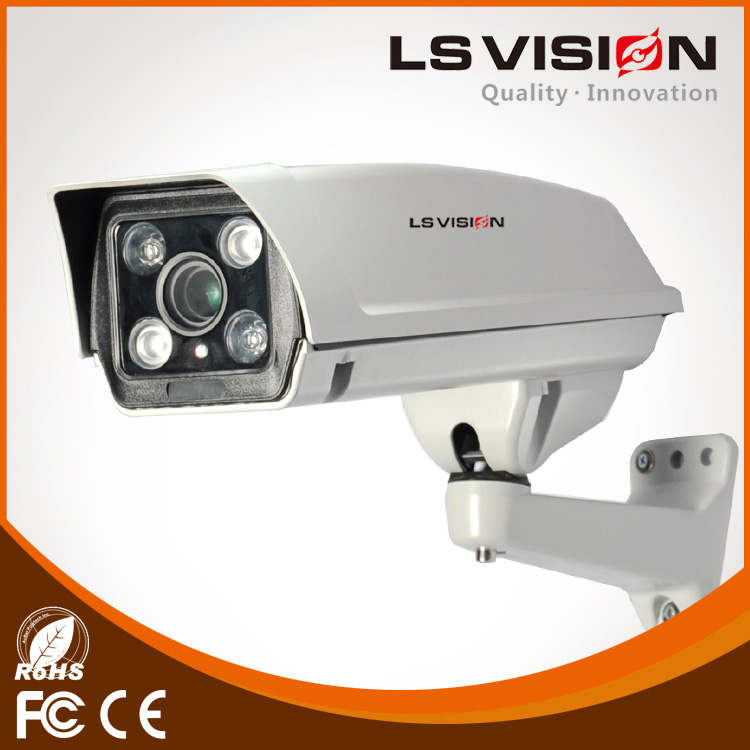 LS VISION security web cameras pir security camera with led light surveillance cameras