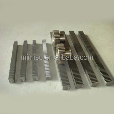 MMS High precision C45 steel CNC gear rack and pinion