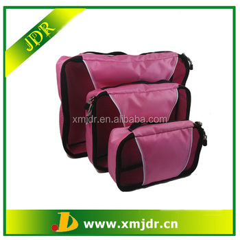2015 High Quality Cheap Mesh Travel Organizer Bag Set