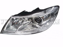 2009 Auto Parts 1ZD941017A/018A Replacement for Skoda Octavia Angel Eye Headlight