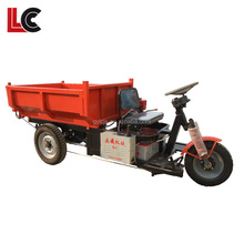 Mini electric hyva dumper truck tricycle for sale / customized electric mining bitcoin dumper