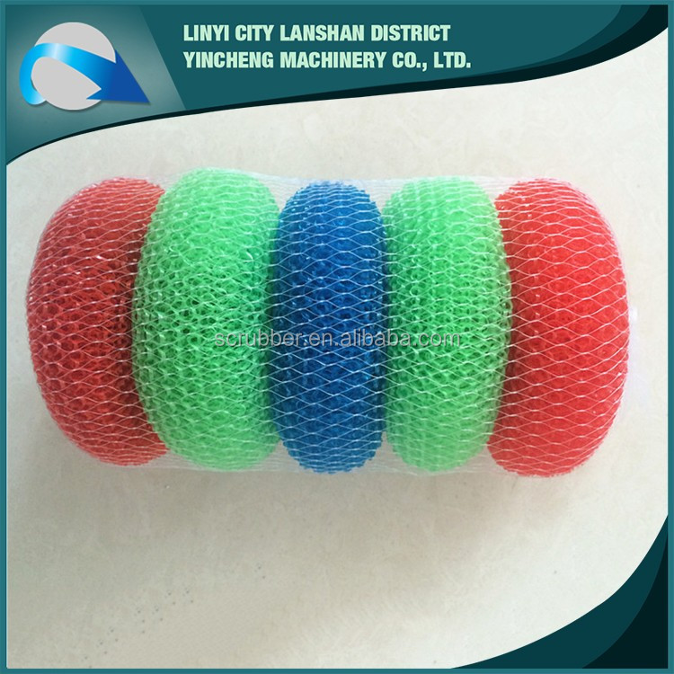 Kitchen 0.13mm cleaning ball wire , mesh cleaning ball scourer