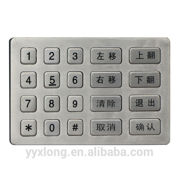 New design lock remote control numeric lcd home security keypad