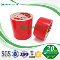 RED Air Conditioner Pipe Cloth Easy To Tear Duct Tape