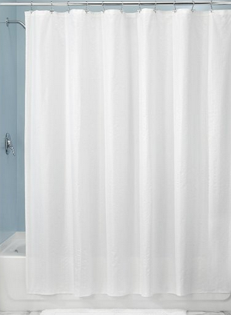 water resistant 100% soft touch microfiber polyester Seersucker Stripe Liner to your bathroom
