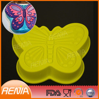 Designs for toast baking mold and cake pans of silicon butterfly cake mold