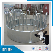 High Quality China Supplied Hot Dipped Galvanized Steel Round Bale Feeder for livestock