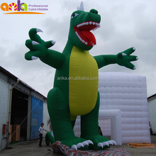 2015 Fashionable inflatable blue dragon with good quality