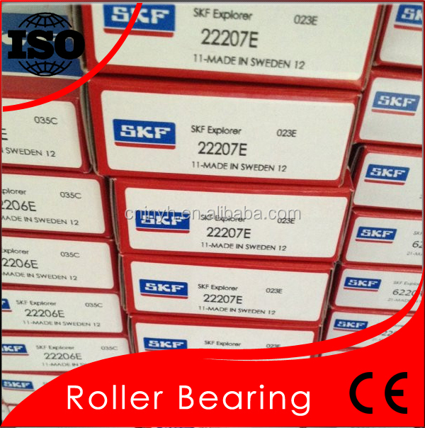 Long Using Life SKF 22207 Spherical Roller Bearing 22207 SKF Original Sweden Brand
