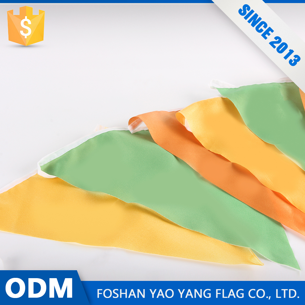 Oem Service Design Your Own Polyester Cheap Bunting Flag
