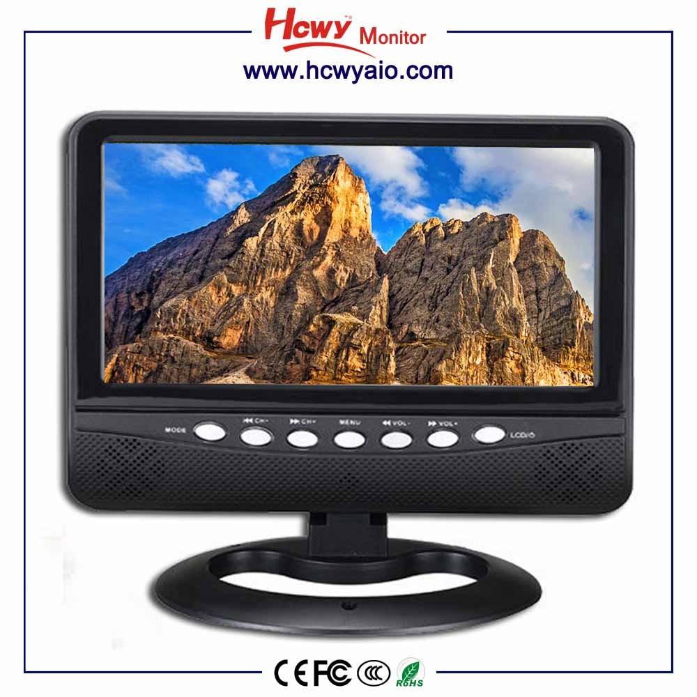 HD Handheld TV Small Size 7inch LCD LED Car Portable TV