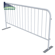 Galvanized Steel Barricade Traffic Budget Temporary Fencing with high quality