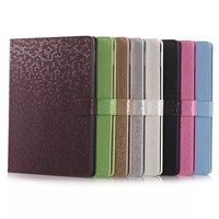 wholesale Carbon styles smooth PU leather case for ipad air 2