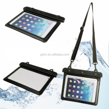 Universal duarable and reliable waterproof swimming PVC tablet bag case for iPad mini, iPad, iPad air