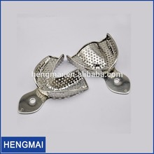 Dental Instruments Dental Stainless Steel Impression Tray Teeth Impression Tray For Teeth Model