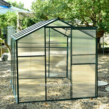 New popular garden used greenhouses for sale,polycarbonate Greenhouse UV Treated,Small Backyard Garden Use mini room