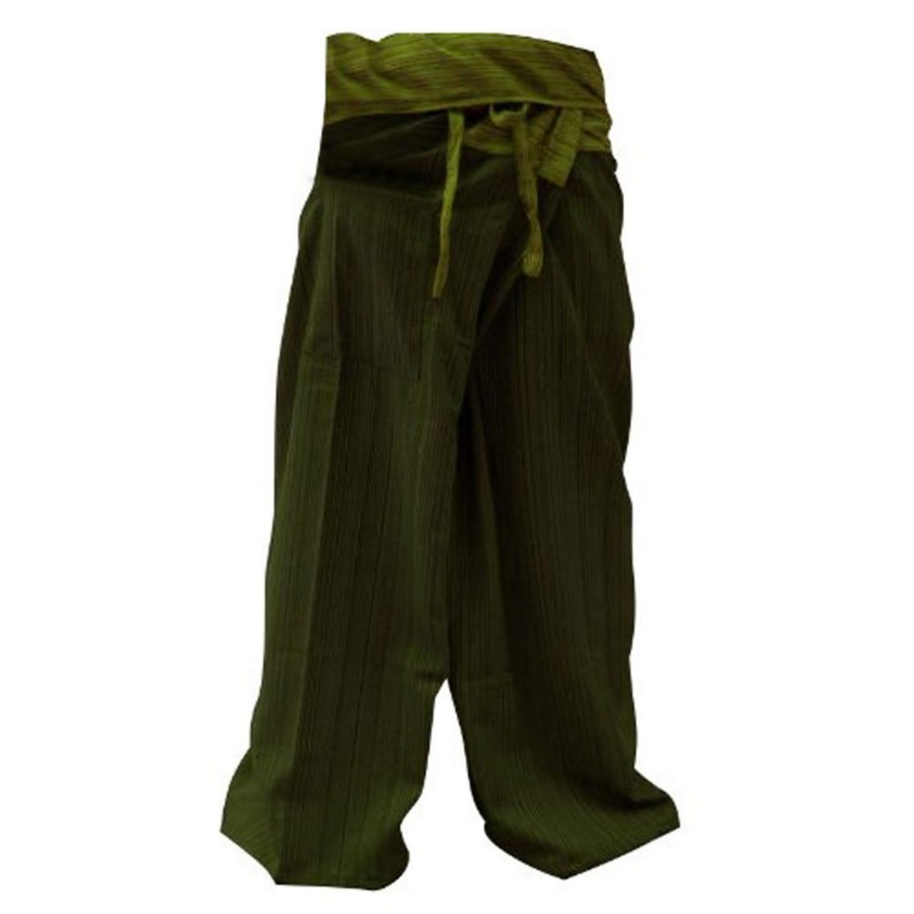 2016 Wholesale Thai Fisherman Pants Cotton 100% Traditional Tailoring Style Yoga Pants , Relax Pants , Clothes