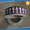Self Adhesive Vinyl Pipe Marking Arrow Tape for Warning