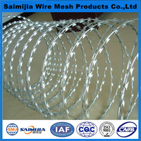 anping Cross razor concertina razor barbed wire (high quality)