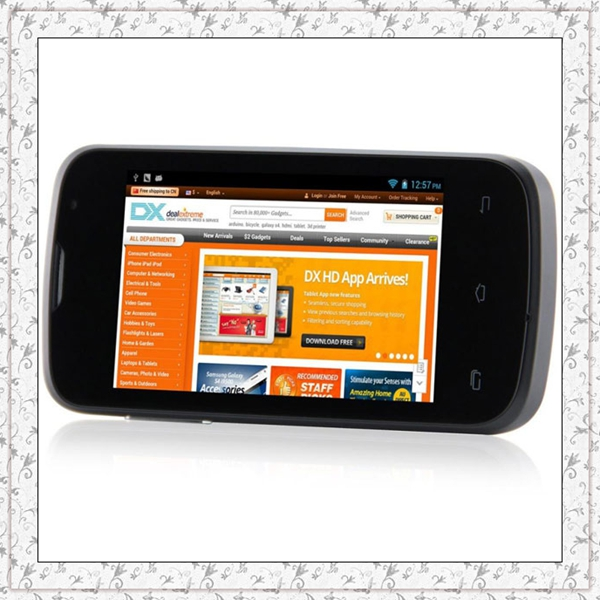 Original Smartphone DOOGEE CoLLo 2 DG120 Android 4.2 MTK6572W Dual Core 3.5'' TFT Screen 3G GPS 256M RAM 512M ROM