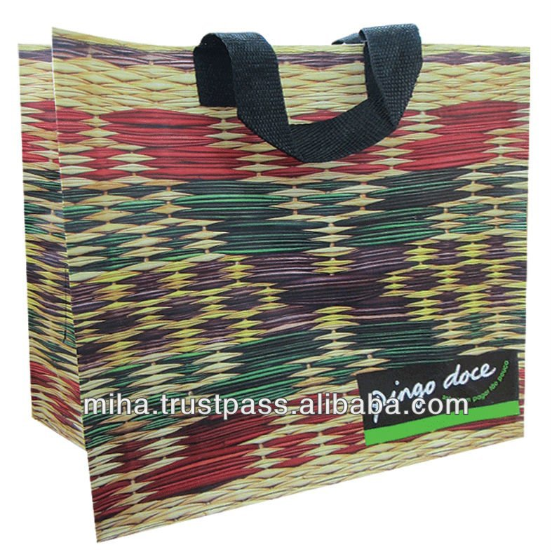 Manufacturer for PP woven Shopping bags
