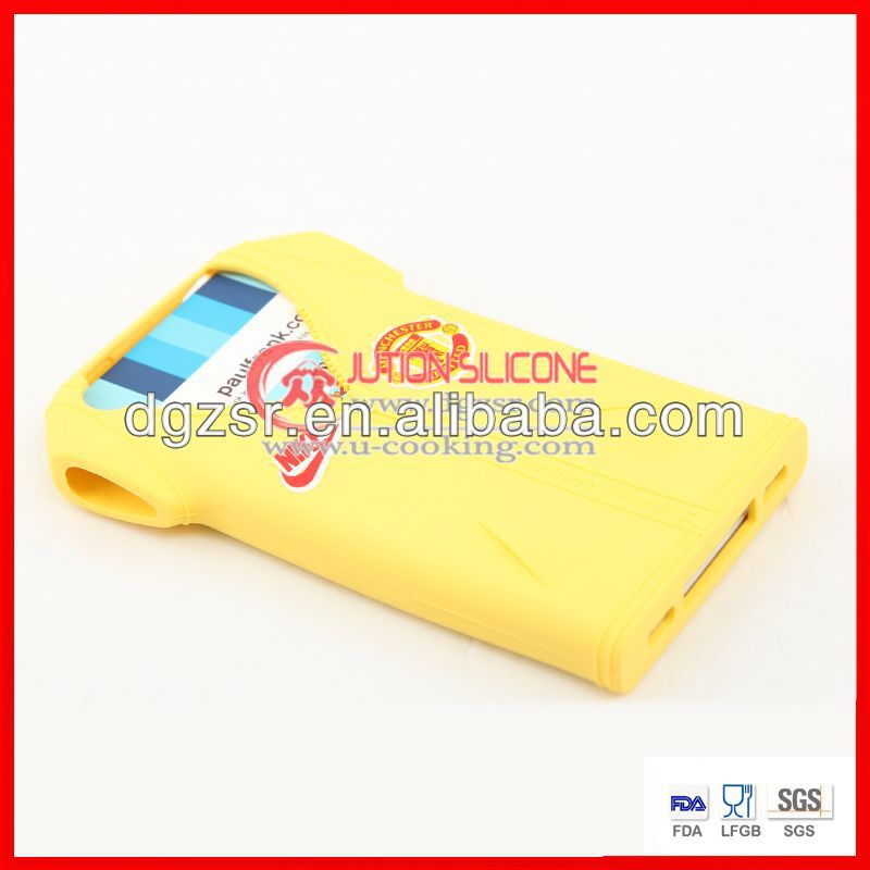 2013 Hot sale! silicone blank phone case
