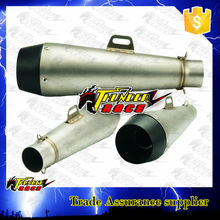 Stainless steel muffler exhaust pipe slip on m4