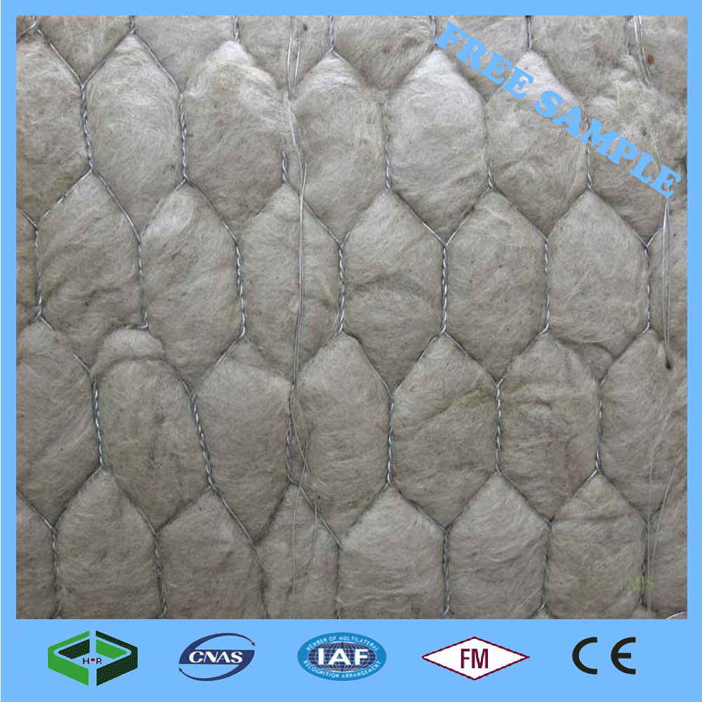 Free Samples Avaliable High Density Fireproof and Hydrophonic Rock Wool Blanket