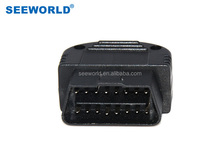 S701 obd ii tools with GPS Tracking function plug in and play base on GPRS Class 12 GSM GPS to upload the data