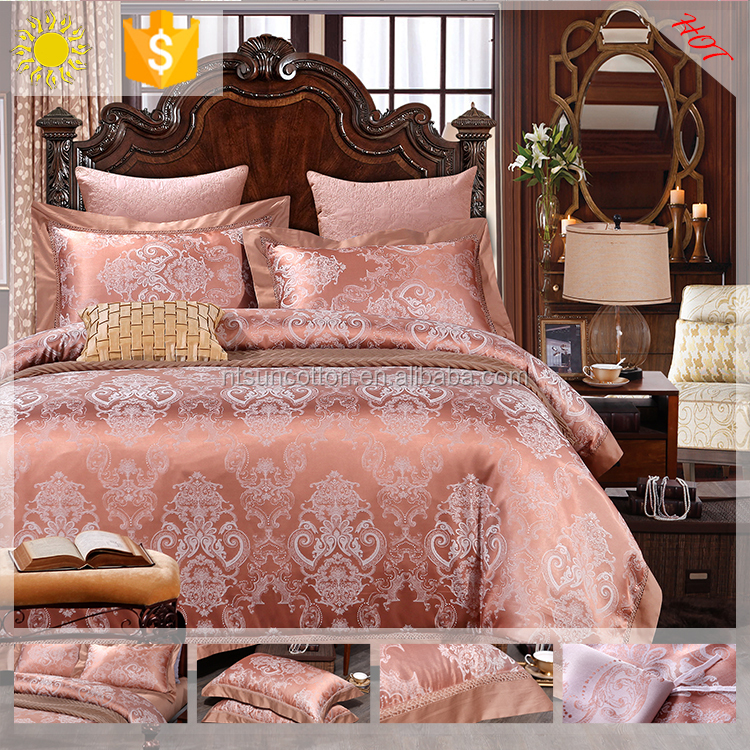 custom printed 3d ribbon embroidery bedding set