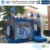 2016 New Design Frozen Inflatable Bouncer Jumping Castle With Slide
