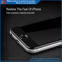silk print glass full cover HD 9h tempered glass 3d curved screen protector film for iphone