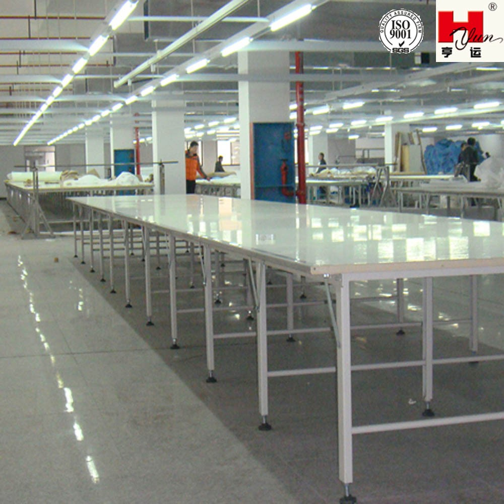 Textile Cutting Table Industrial Sewing Cutting Tables