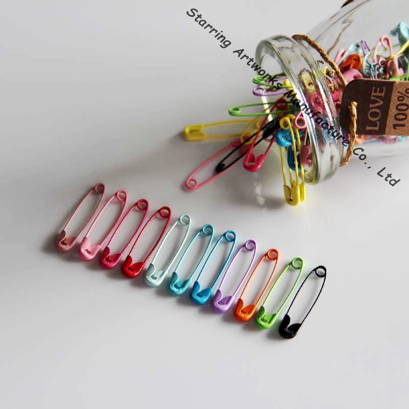 Decorative 28mm Color Safety Pin