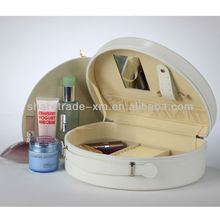 Ladies Leather Makeup Vanity Case