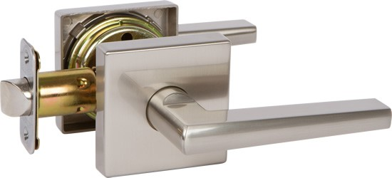 Modern indoor lever handle privacy bathroom with brush nickel /Satin Nickel /Oil Rubbed Bronze