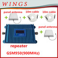 wifi repeater gsm950 blue cellphone signal repeater 2g/3g/4g signal booster With LCD 900MHz