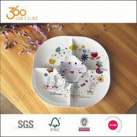Alibaba plastic food tray with lid