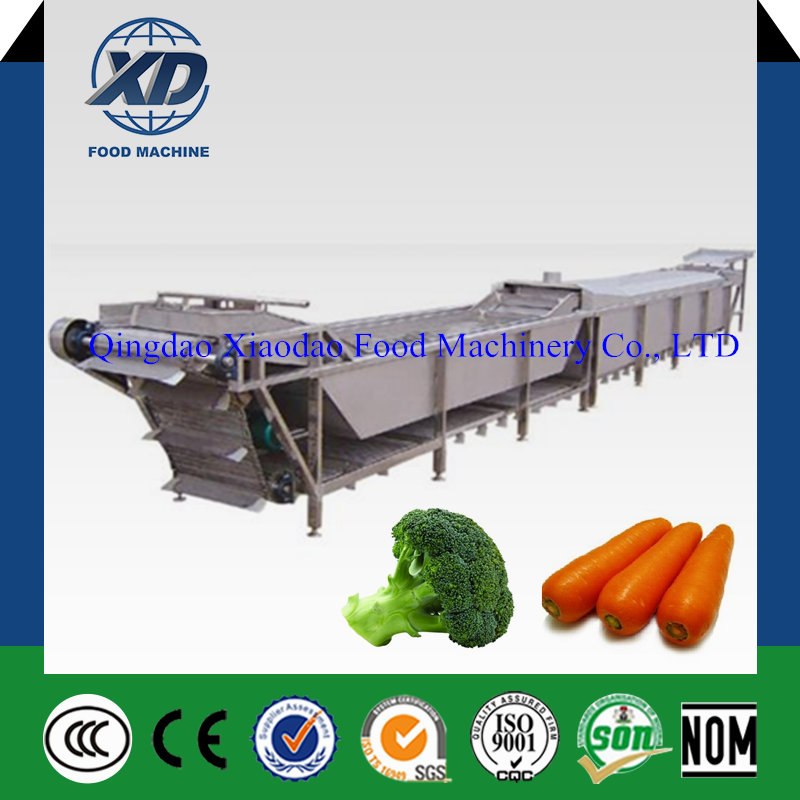 High quality fruit and vegetable blanching machine