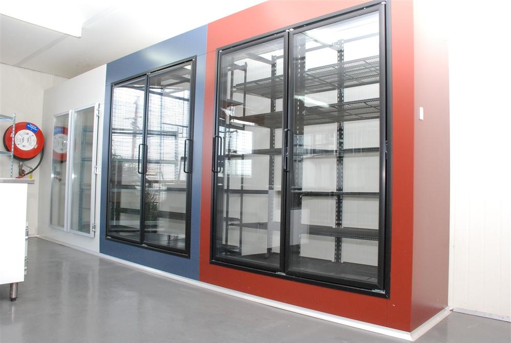 Glass Door Refrigerator Deep Freeze Display Cabinet Used Glass Door
