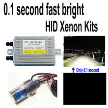 Factory direct 0.1 second 55w fast bright hid xenon kit h1 h3 h4 h7 h8 h9 h10 h11 h13 hb3 hb4 9005 9006