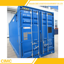 PLT-606A CIMC Brand new 20 Feet High Cube Shipping Containers For Sale