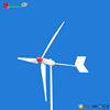 Low-cost 5KW wind generator wind generator from china wind turbine manufacturer
