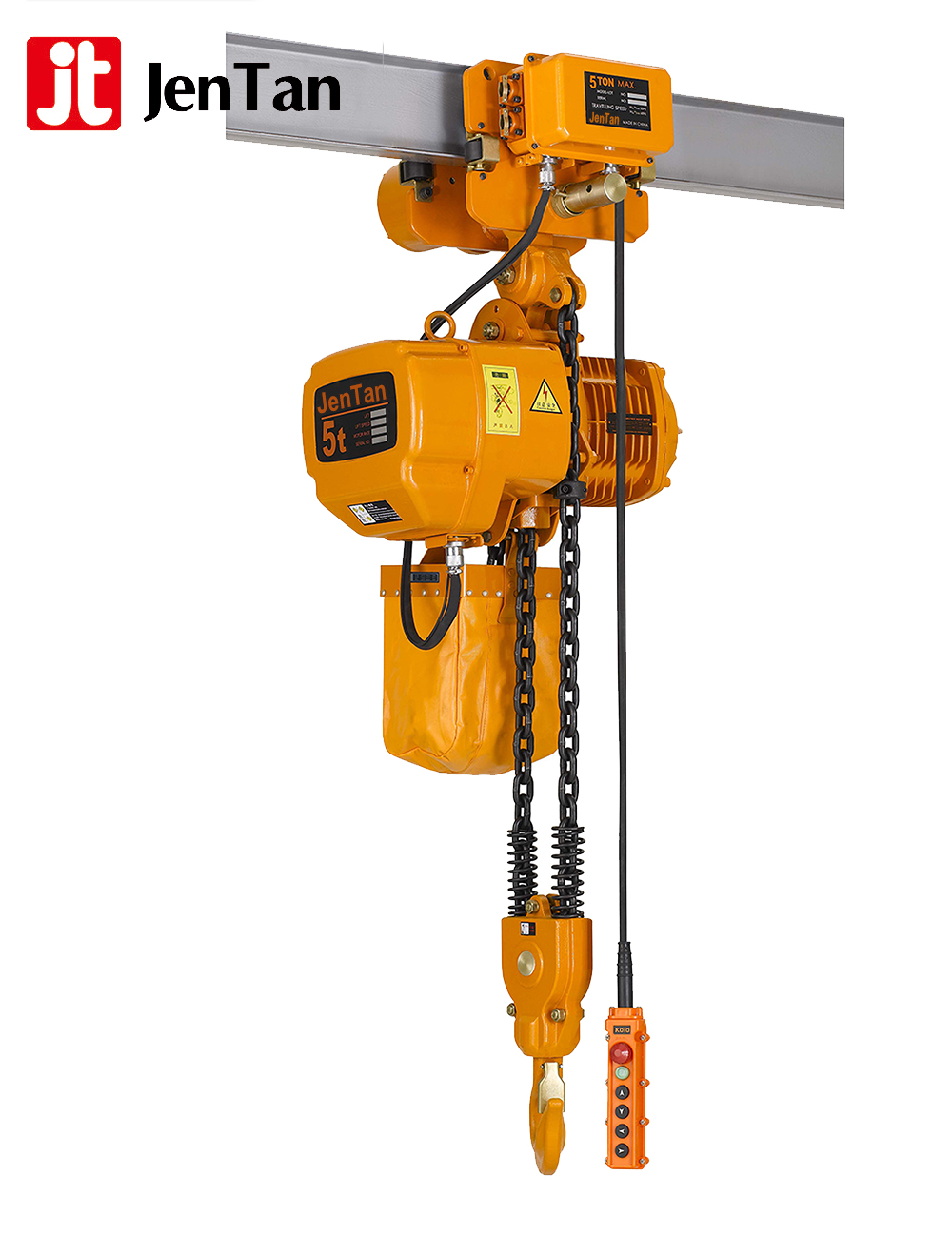 JenTan Cheap 2 ton nitchi type electric chain hoist