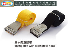 length 1.5M 304#stainless steel head diving belt