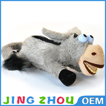 donkey stuffed toy/2015 china soft baby cute toy plush donkey/plush donkey