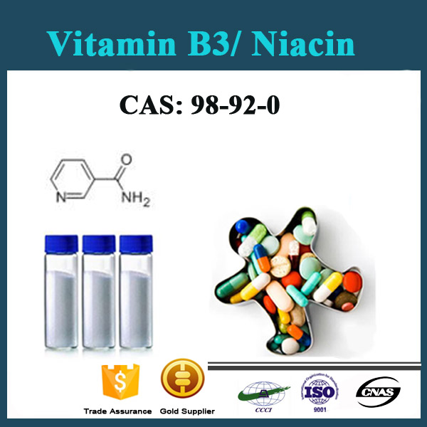 Vitamin B3,niacinamide face serum & vitamin B3 niacinamide food grade from Chinese supplier