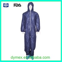 Antistatic White High Quality Disposable Hoods Coverall with Good Reflector