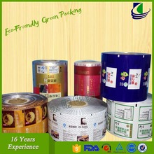 Poly Laminated Aluminum Foil Pouch Film Roll
